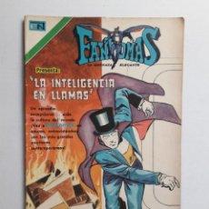 Tebeos: FANTOMAS Nº 201 - ORIGINAL EDITORIAL NOVARO. Lote 222344081