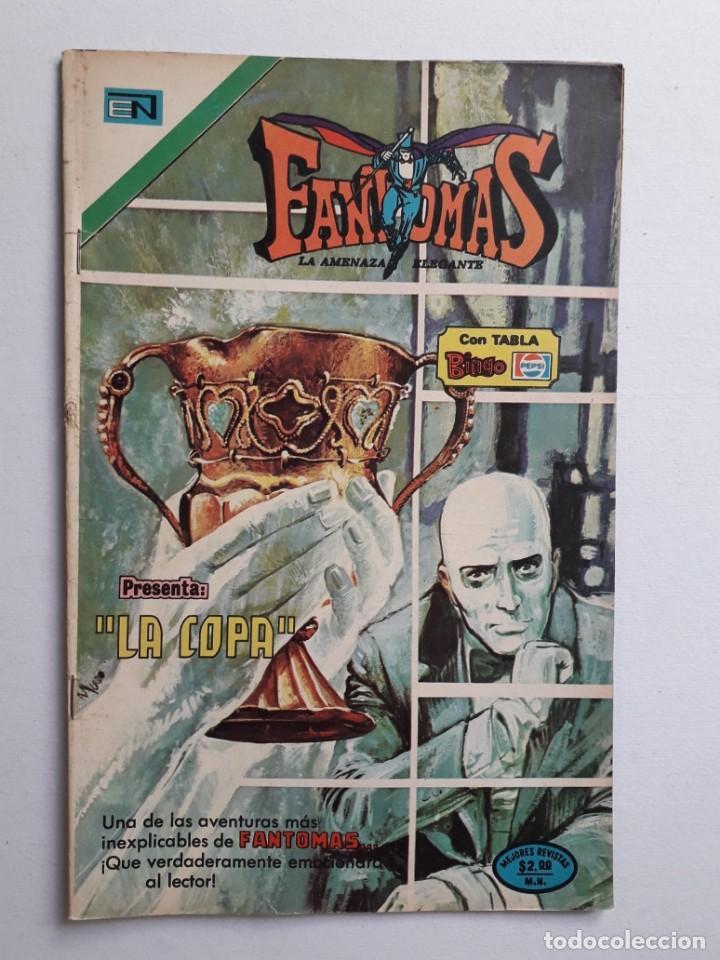FANTOMAS Nº 198 - ORIGINAL EDITORIAL NOVARO (Tebeos y Comics - Novaro - Otros)