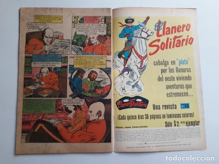 Tebeos: Fantomas nº 198 - original editorial Novaro - Foto 3 - 222344186