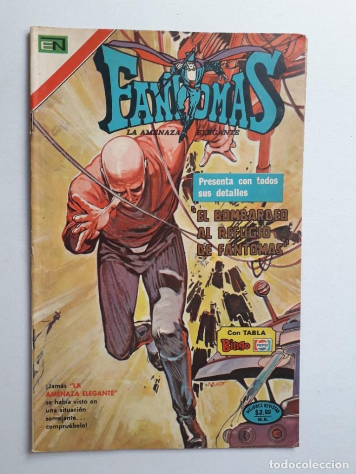 FANTOMAS Nº 197 - ORIGINAL EDITORIAL NOVARO (Tebeos y Comics - Novaro - Otros)