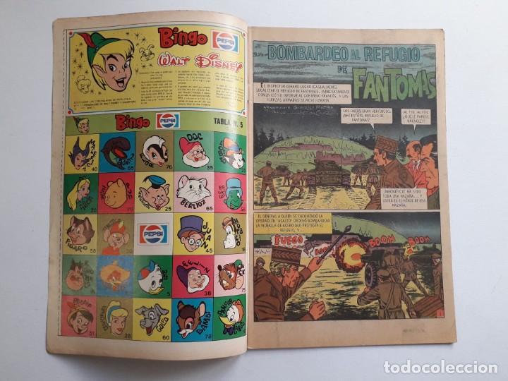 Tebeos: Fantomas nº 197 - original editorial Novaro - Foto 2 - 222344291