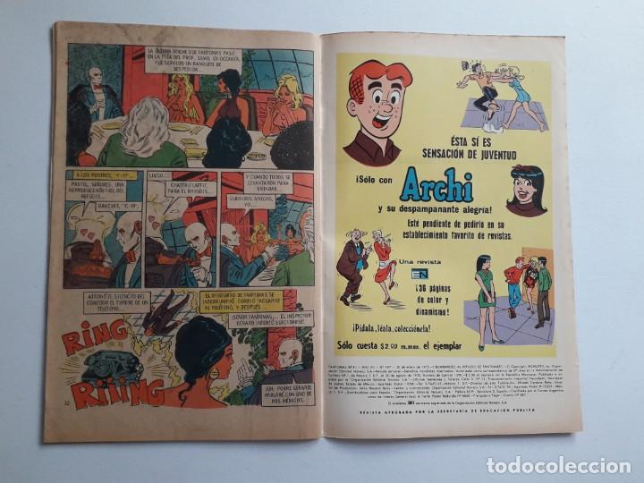 Tebeos: Fantomas nº 197 - original editorial Novaro - Foto 3 - 222344291