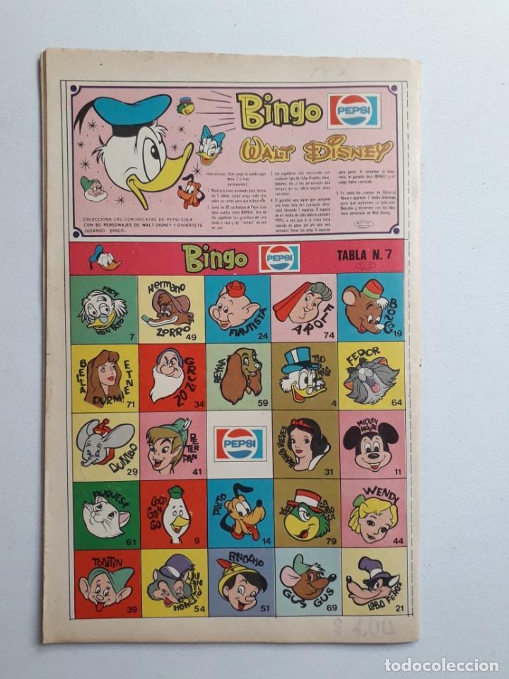Tebeos: Fantomas nº 197 - original editorial Novaro - Foto 4 - 222344291