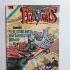 Tebeos: FANTOMAS Nº 195 - ORIGINAL EDITORIAL NOVARO. Lote 222344433