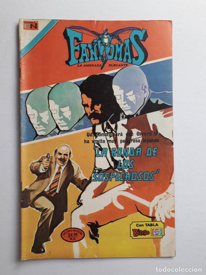 FANTOMAS Nº 194 - ORIGINAL EDITORIAL NOVARO (Tebeos y Comics - Novaro - Otros)