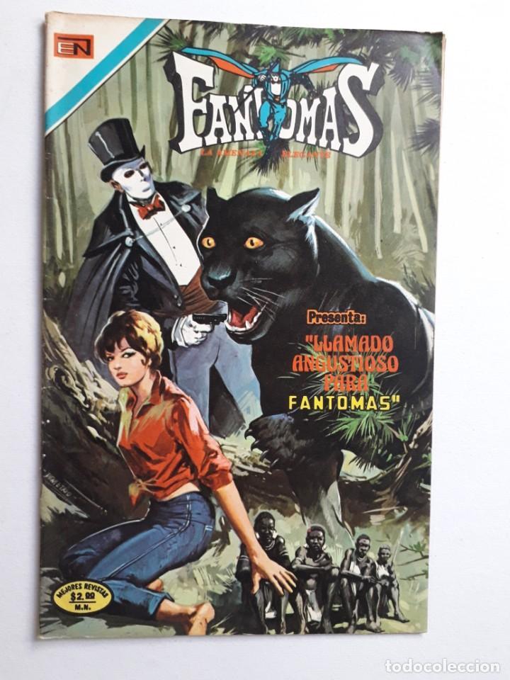 FANTOMAS Nº 193 - ORIGINAL EDITORIAL NOVARO (Tebeos y Comics - Novaro - Otros)