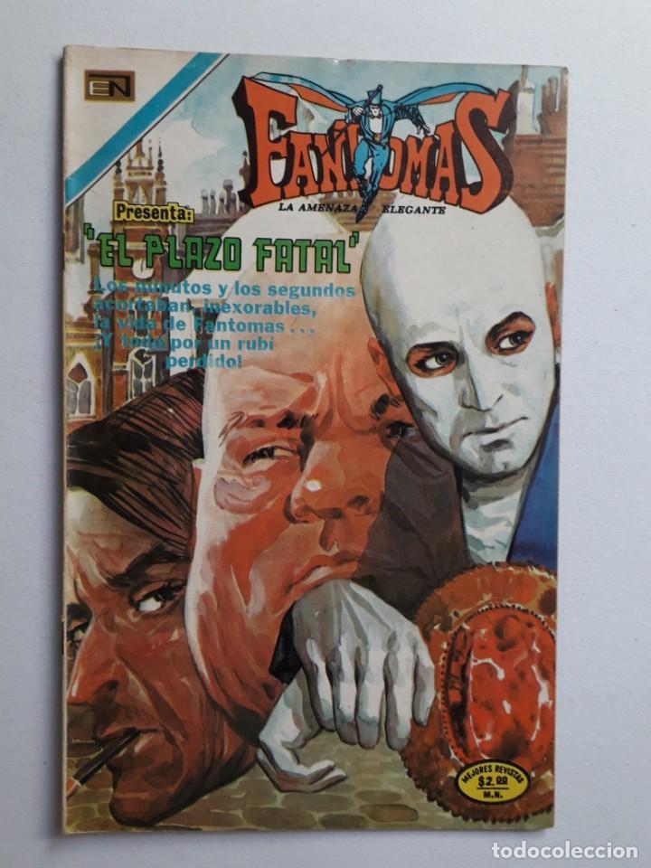 FANTOMAS Nº 192 - ORIGINAL EDITORIAL NOVARO (Tebeos y Comics - Novaro - Otros)