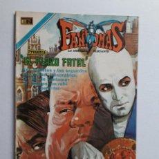 Tebeos: FANTOMAS Nº 192 - ORIGINAL EDITORIAL NOVARO. Lote 222344818