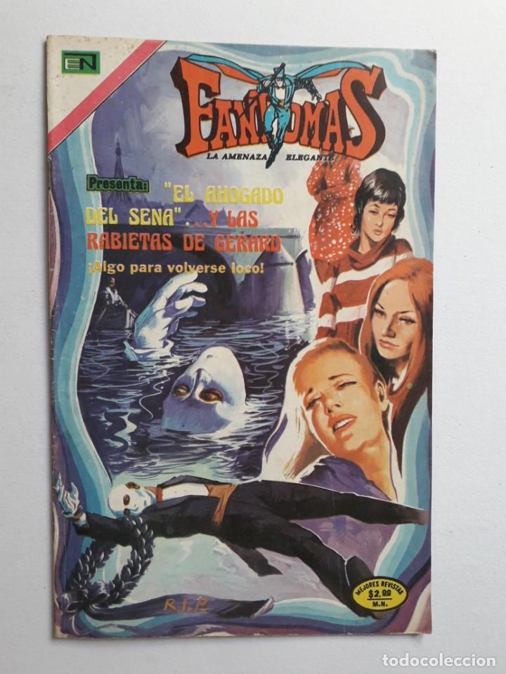 FANTOMAS Nº 189 - ORIGINAL EDITORIAL NOVARO (Tebeos y Comics - Novaro - Otros)