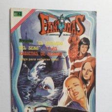 Tebeos: FANTOMAS Nº 189 - ORIGINAL EDITORIAL NOVARO. Lote 222344948