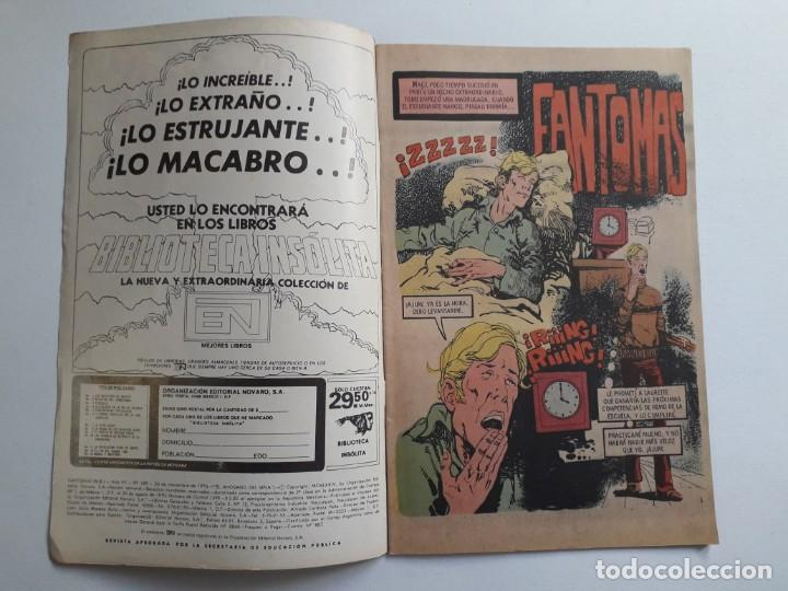 Tebeos: Fantomas nº 189 - original editorial Novaro - Foto 2 - 222344948