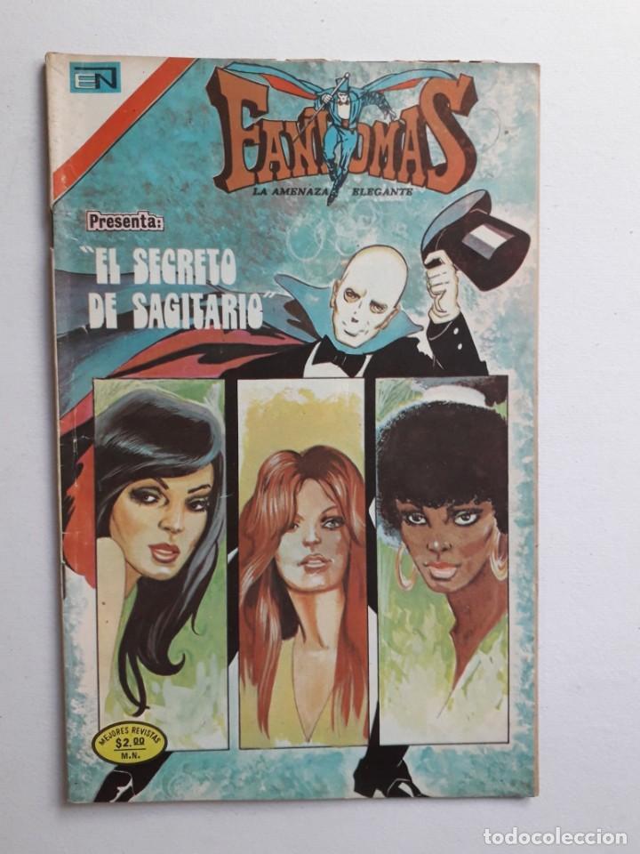 FANTOMAS Nº 187 - ORIGINAL EDITORIAL NOVARO (Tebeos y Comics - Novaro - Otros)