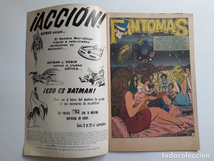 Tebeos: Fantomas nº 187 - original editorial Novaro - Foto 2 - 222345066