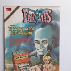 Tebeos: FANTOMAS Nº 186 - ORIGINAL EDITORIAL NOVARO. Lote 222345196