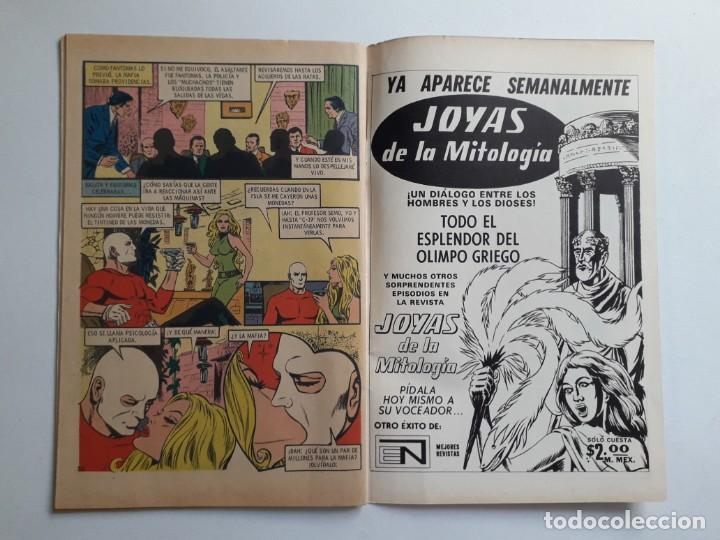 Tebeos: Fantomas nº 186 - original editorial Novaro - Foto 3 - 222345196