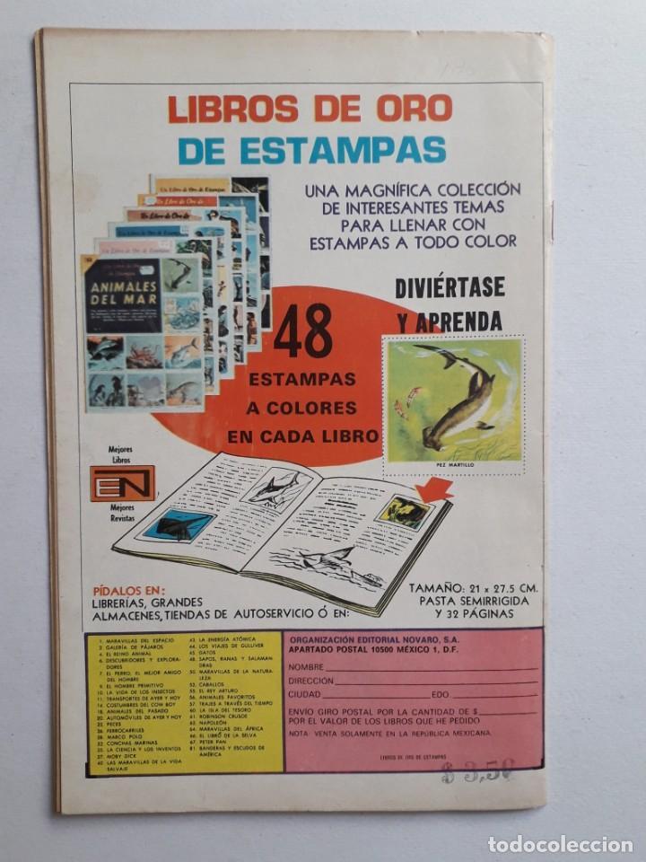 Tebeos: Fantomas nº 186 - original editorial Novaro - Foto 4 - 222345196