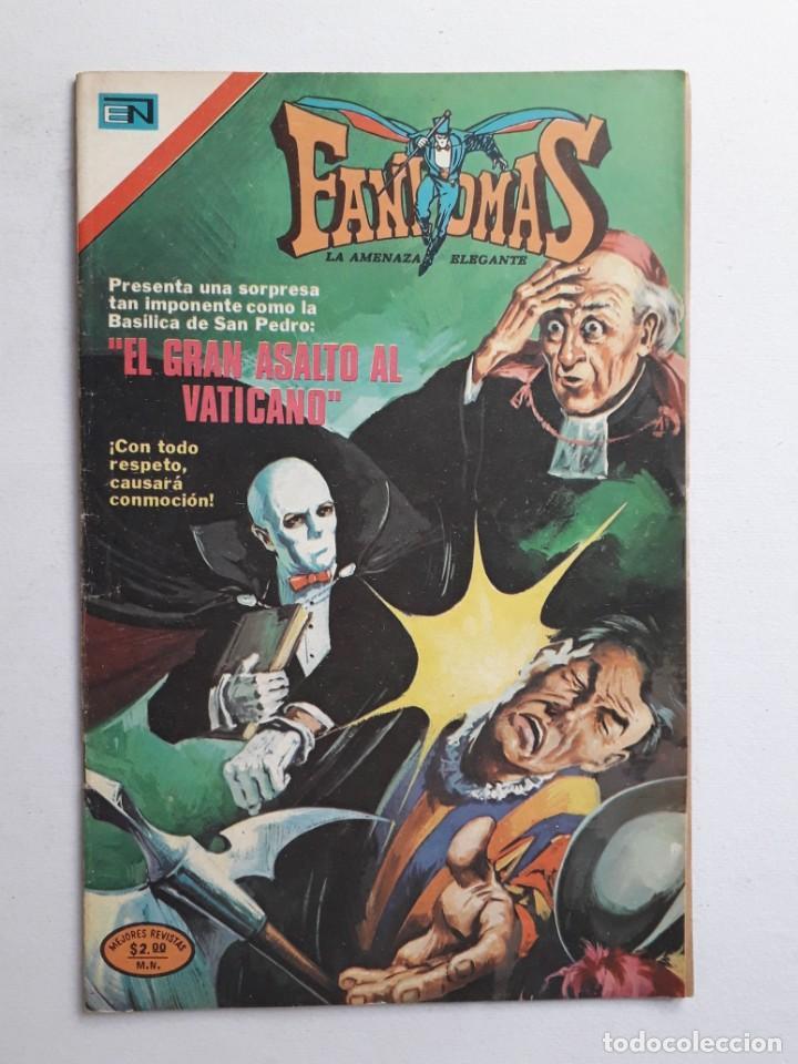 FANTOMAS Nº 184 - ORIGINAL EDITORIAL NOVARO (Tebeos y Comics - Novaro - Otros)