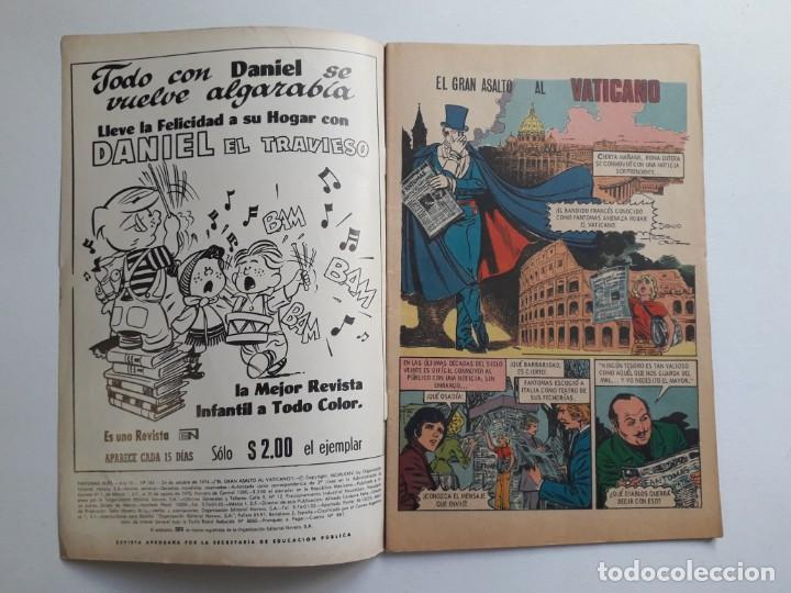 Tebeos: Fantomas nº 184 - original editorial Novaro - Foto 2 - 222345628