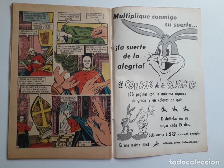 Tebeos: Fantomas nº 184 - original editorial Novaro - Foto 3 - 222345628