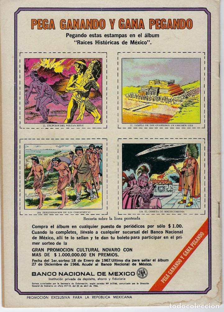 Tebeos: AVENTURA PRESENTA: TUROK EL GUERRERO... - AÑO XIII - Nº 453 - SEP. 13 DE 1966 ** EDITORIAL NOVARO ** - Foto 2 - 222436053