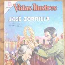 Livros de Banda Desenhada: NOVARO - VIDAS ILUSTRES- LOTE 10 NÚMEROS. Lote 222448988
