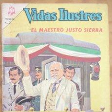 Livros de Banda Desenhada: NOVARO - VIDAS ILUSTRES- LOTE 10 NÚMEROS. Lote 222449202