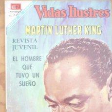 Livros de Banda Desenhada: NOVARO - VIDAS ILUSTRES- LOTE 8 NÚMEROS. Lote 222449381