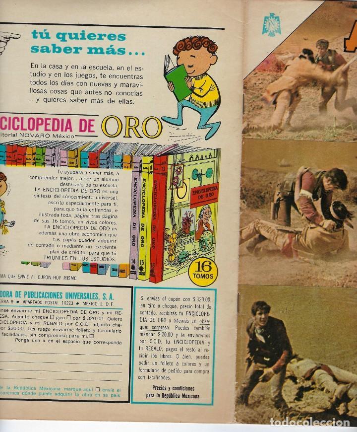 Tebeos: AVENTURA PRESENTA: LA CARAVANA - AÑO XII - N.º 379 - ABRIL 13 DE 1965 ** EDITORIAL NOVARO ** - Foto 3 - 222468107