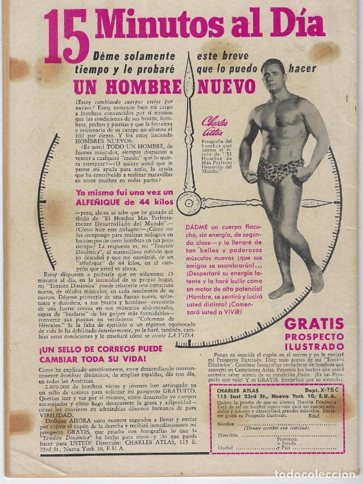 Tebeos: AVENTURA PRESENTA: MAVERICK - AÑO X - N.º 273 - ABR. 2 DE 1963 ** EDITORIAL NOVARO ** - Foto 2 - 222472537