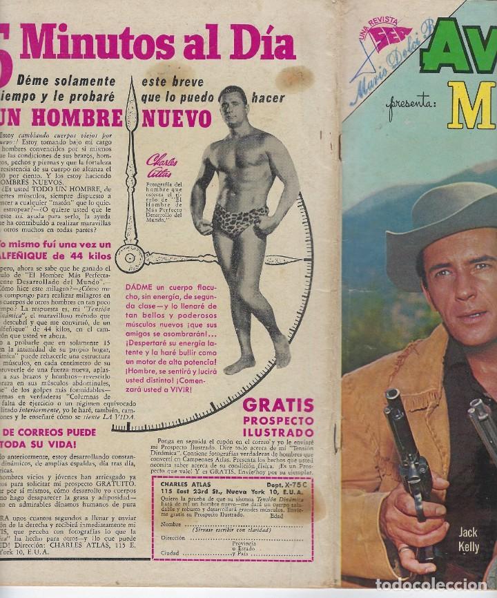 Tebeos: AVENTURA PRESENTA: MAVERICK - AÑO X - N.º 273 - ABR. 2 DE 1963 ** EDITORIAL NOVARO ** - Foto 3 - 222472537