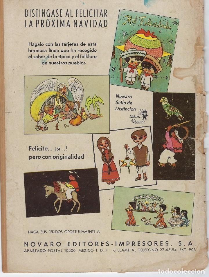 Tebeos: AVENTURA PRESENTA: LA CARAVANA - AÑO VIII - N.º 198 - OCT. 24 DE 1961 ** EDITORIAL NOVARO ** - Foto 2 - 222475266