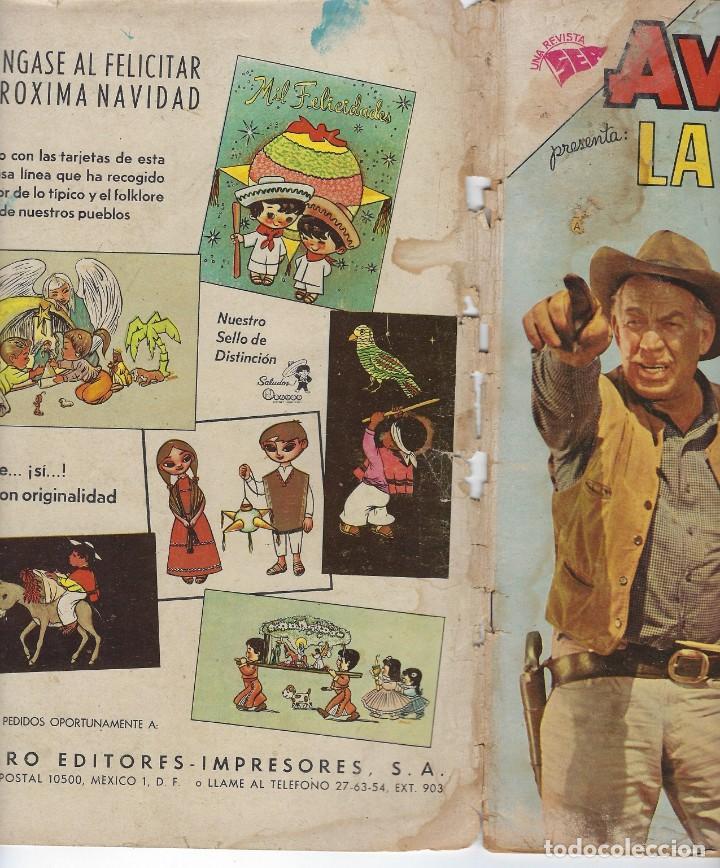 Tebeos: AVENTURA PRESENTA: LA CARAVANA - AÑO VIII - N.º 198 - OCT. 24 DE 1961 ** EDITORIAL NOVARO ** - Foto 3 - 222475266