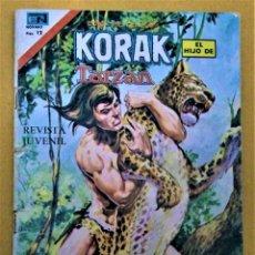 Tebeos: KORAK - EL HIJO DE TARZAN - SERIE AGUILA - Nº2-56 - AÑO 1976 - ED NOVARO. Lote 222476906