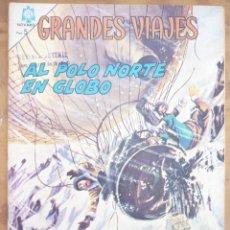 Tebeos: NOVARO -GRANDES VIAJES - LOTE 8 NÚMEROS. Lote 222491806