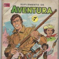 Tebeos: SUPLEMENTO AVENTURA - Nº 7 - 1967 ** NOVARO - ACME ARGENTINA ** VER IMÁGENES. Lote 295899518