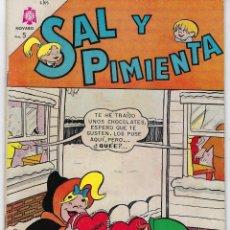 Tebeos: SAL Y PIMIENTA - AÑO I - Nº 2 - FEBRERO 1º DE 1965 *** EDITORIAL NOVARO ***. Lote 222640405
