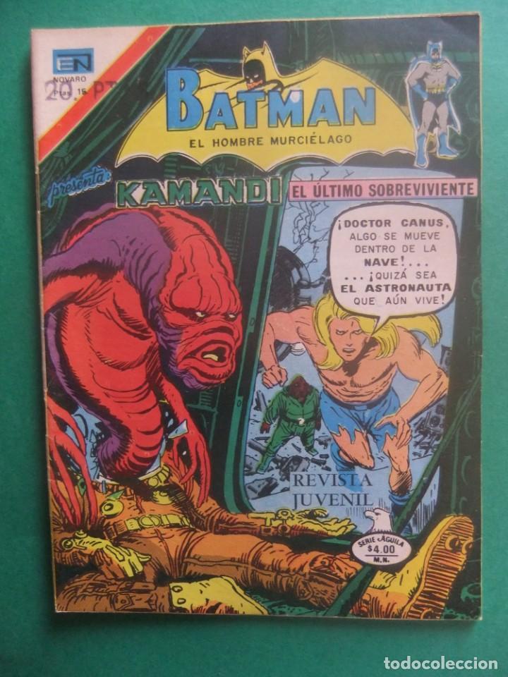 BATMAN PRESENTA KAMANDI Nº 2-896 SERIE AGUILA NOVARO (Tebeos y Comics - Novaro - Batman)