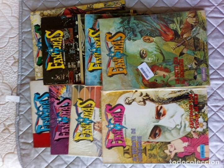 Tebeos: Fantomas Novaro Librocómic COMPLETA 8 Números - Foto 2 - 199150516