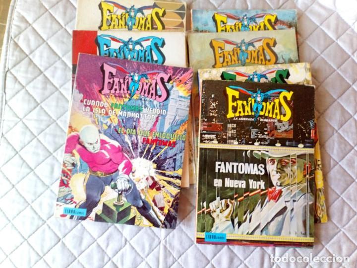 Tebeos: Fantomas Novaro Librocómic COMPLETA 8 Números - Foto 3 - 199150516