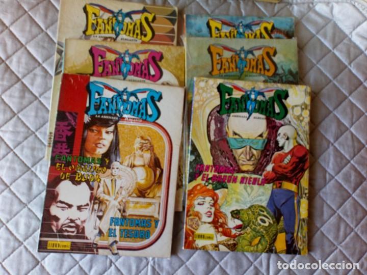 Tebeos: Fantomas Novaro Librocómic COMPLETA 8 Números - Foto 5 - 199150516
