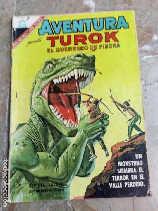 AVENTURA Nº 467 TUROK NOVARO (Tebeos y Comics - Novaro - Aventura)