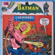 BDs: BATMAN Nº 719 - NOVARO 1974. Lote 222952280