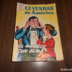 Tebeos: LEYENDAS DE AMERICA Nº 97. EL MUÑECO CON ALMA. Lote 222958233
