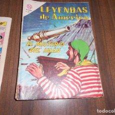 Tebeos: LEYENDAS DE AMERICA Nº 100. EL MISTERIO DEL IMAN. Lote 222958291