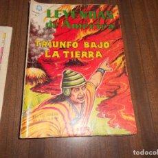 Tebeos: LEYENDAS DE AMERICA Nº 105. TRIUNFO BAJO LA TIERRA. Lote 222958360