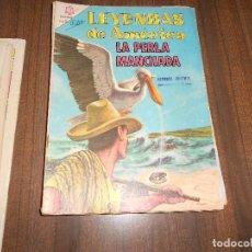 Tebeos: LEYENDAS DE AMERICA Nº 111. LA PERLA MANCHADA. Lote 222958472