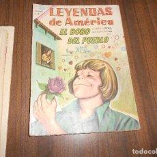 Tebeos: LEYENDAS DE AMERICA Nº 115. EL BOBO DEL PUEBLO. Lote 222958596