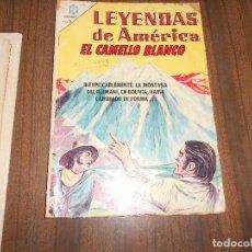 Tebeos: LEYENDAS DE AMERICA Nº 118. EL CAMELLO BLANCO. Lote 222958738