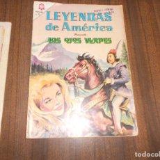 Tebeos: LEYENDAS DE AMERICA Nº 119. LOS OJOS VERDES. Lote 222958790