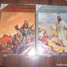 Tebeos: HISTORIA DEL CRISTIANISMO NºS 1 Y 2. Lote 222987720